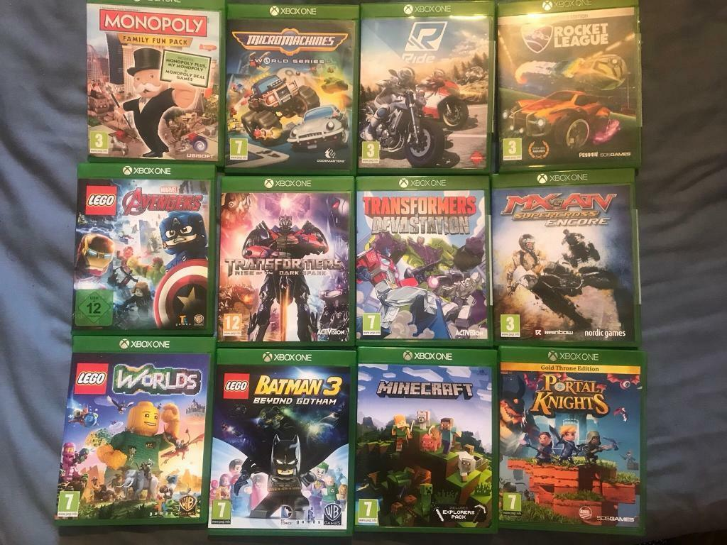 Kids Xbox One Games 10 Each In Shirehampton Bristol Gumtree