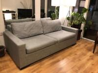 Sofa bed in Hoxton £160 or nearest offer. Quick sale