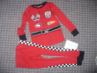 Bundle of racing suit and hoodie/jacket (M&S) clothes for slim boy 18-24mths/ 18-24 mths.