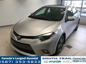 2016 Toyota Corolla LE - HEATED SEATS, LEATHER ACCENTS