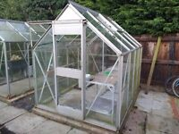Greenhouse 8ft x 6ft - £75 ono