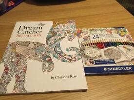 Dream Catcher Colouring book