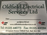 VACANCY FOR EXPERIENCED ELECTRICIAN - Full Time Position. BATH,