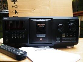 Sony CDP-CX355 Multi Compact Disc Player. 300 CD capacity. Ashford, Middx.