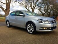 2013 (63 Reg) Volkswagen Passat 1.6 TDI BlueMotion Tech Highline, FSH, 12 Month FREE PCO