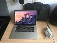 "MacBook Pro 15"" retina 2012 i7 good condition high spec"