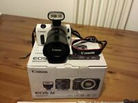 Canon EOS M 18.0 MP Digital Camera with 18-55mm Lens