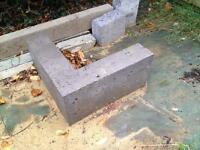 """L"" shaped concrete lintel"