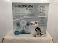 Angelcare Deluxe Movement & Sound Baby Monitor AC401-2P Dual Monitor Pack