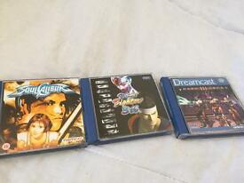 Dreamcast games + accessories (check all pics)