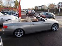 *BMW 325i*SE*AUTOMATIC*CONVERTIBLE*57 REG*IMMACULATE*LOW MILEAGE*LEATHER*FULL SERVICE HISTORY*£9995*