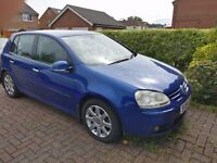 Volkswagen Golf, 1.9TDI GT Variant, Blue Hatchback, Manual Diesel