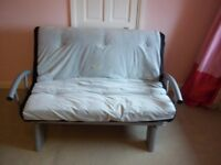 Metal futon Double sofabed 6ft x 4ft