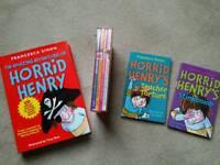 Collection of brand new Horrid Henry books