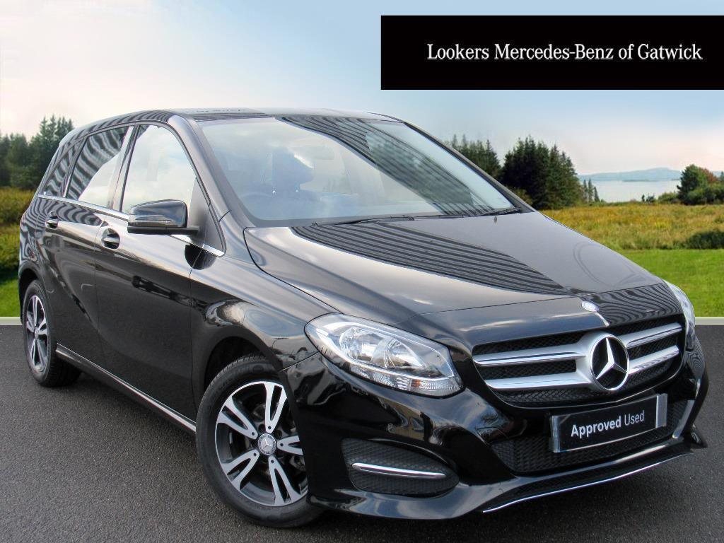 mercedes benz b class b 180 d se black 2017 03 17 in crawley west sussex gumtree. Black Bedroom Furniture Sets. Home Design Ideas
