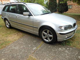 BMW 318 I SE TOURING , AUTO, 2003 (03reg) EXCELLENT CONDTION FOR YEAR ! MOT 2018.