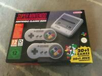Super Nintendo Snes mini brand new