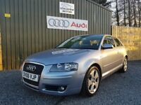 2006 AUDI A3 2.0 TDI SPORT, 3 DOOR, LOW MILES 96000, SERVICE HISTORY, TWO KEYS, 12 MONTHS MOT