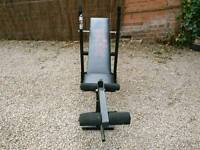 Weiider bench with hamstring curl