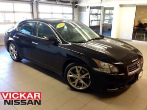 2012 Nissan Maxima SPORT/MOONROOF/19 WHEELS/BLACK ON BLACK!!