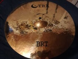 "TRX BRT crash 17"" cymbal"
