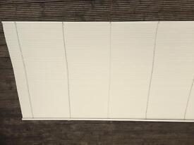 Venetian blind - cream - metal slats - 2.4 metres by 1.3 metres
