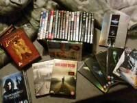 Bundle of dvds including boxsets