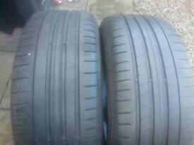 Matching pair Pirelli 225/50/18