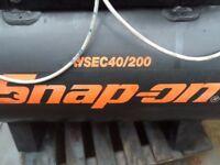 Air compressor Snap On 200Lt, 240v.