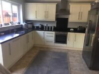 Large Cream kitchen for sale