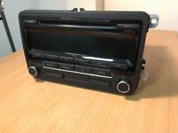 VW Original RCD 310 DAB Radio CD MP3 (with code)