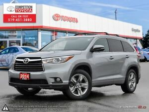 2014 Toyota Highlander Limited One Owner, No Accidents, Toyot...
