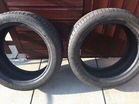 "2""17 Goodyear runflat tyres"