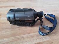 RARE Sony Handycam Video 8 XR 72x Digital Zoom Night Shot
