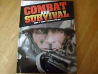 COMBAT AND SURVIVAL , WAR , MAGAZINES / BOOKS