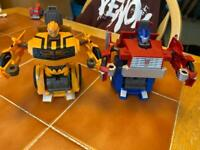 Transformers prime and bumblebee