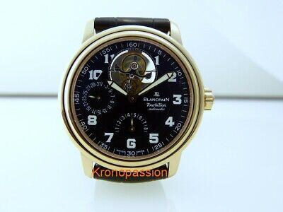 Blancpain Leman Tourbillon 8 Days Power Reserve 18k Rose Gold 2125-3630M-64B