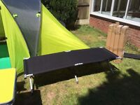 NEW Heavy Duty Folding Camping Bed (4 Available) (Still Boxed)