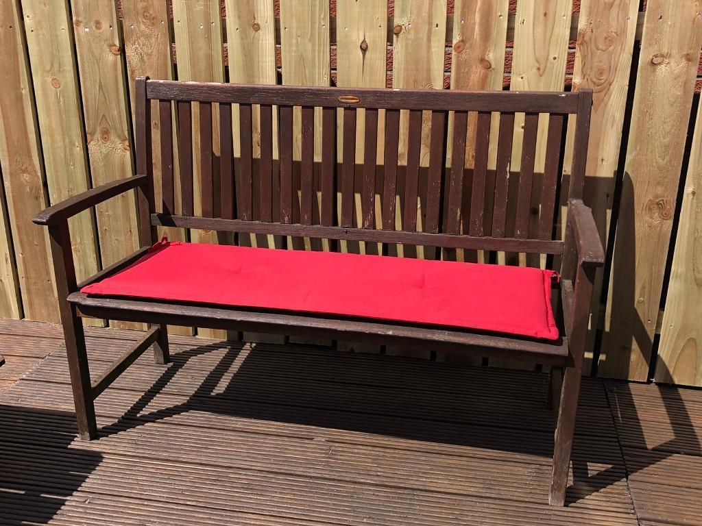 3 seater garden bench table