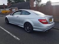 Mercedes 220 amg sport coupe