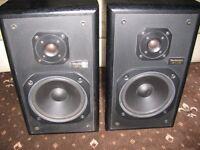 Technics 2 way speakers