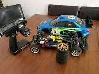rc car drift Schumacher carbon chassis tamiya nitro petrol