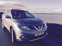 Nissan X Trail 1.6 DCI Tekna CVT 5 Door 7 Seat Automatic with Chrome Pack Excellent Condition