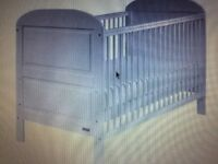 East Coast Angelina Cot bed - good condition - White - RRP £230