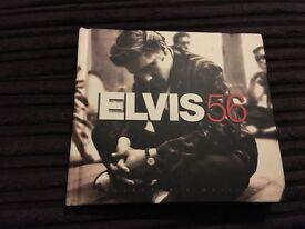 Elvis 56 cd book