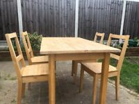 IKEA Norden kitchen table and chairs