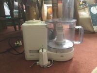 Small Braun food processor
