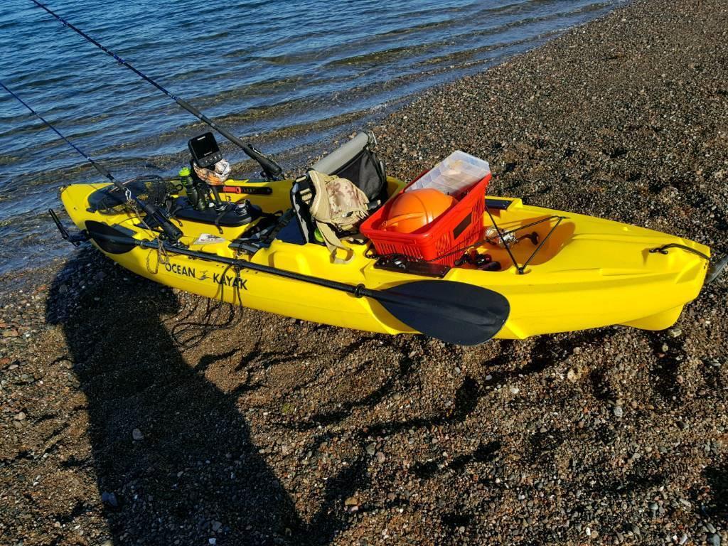 Sea kayak unstable