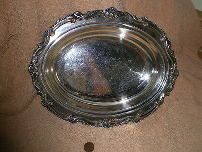 """Wallace """"Chippendale"""" Sliverplate Serving Bowl X101P"""