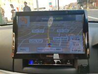 Car dvd stereo with sat nav